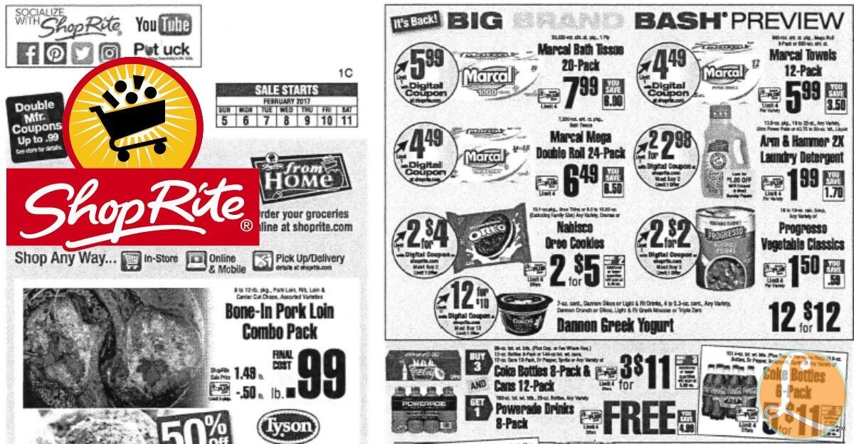shoprite preview ad for the week of 2  5  17living rich with