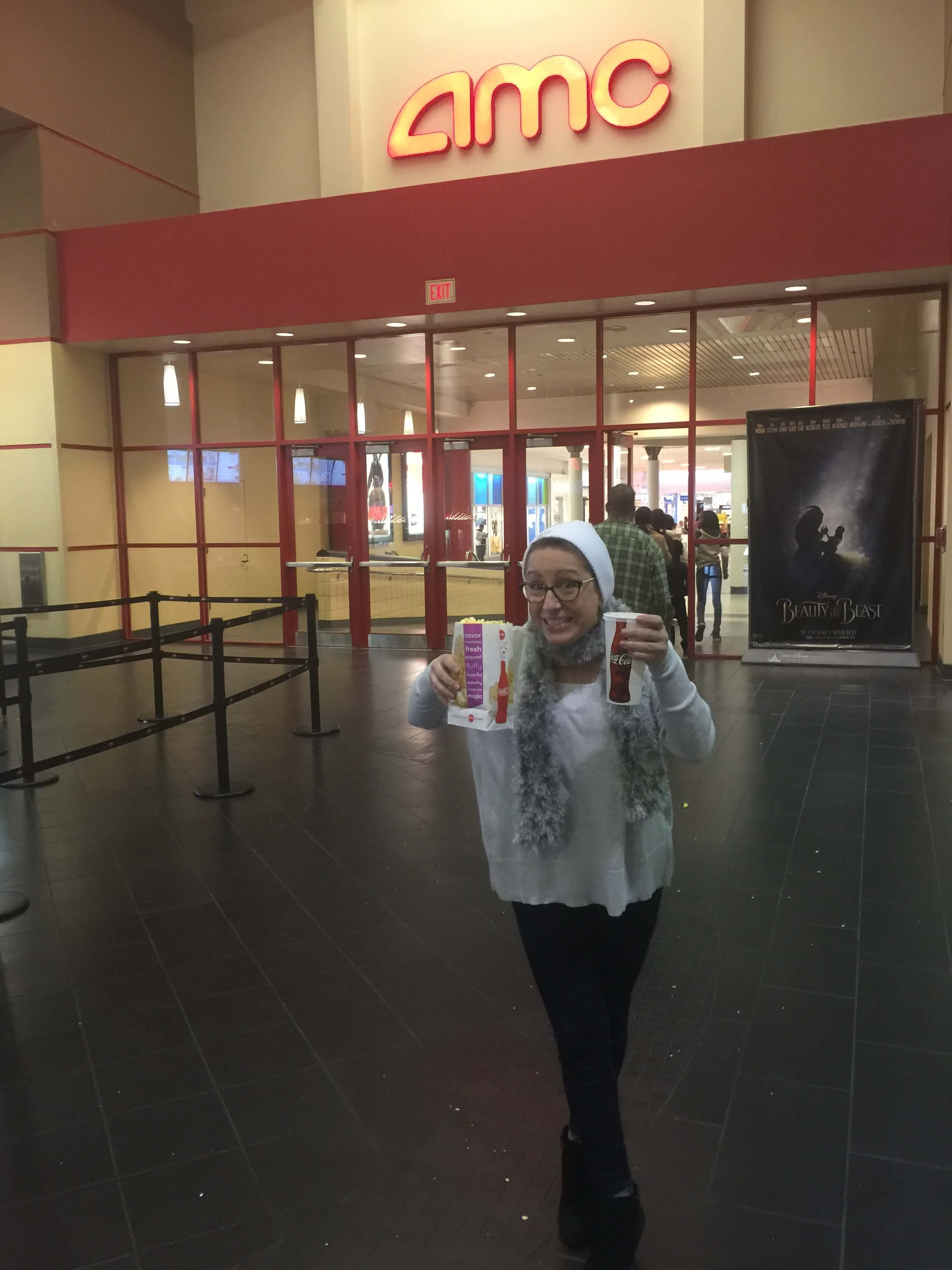 only 5 for a coke and popcorn at amc theatres for middle