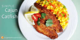 Simple Cajun Catfish