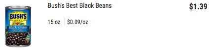 bushes beans HT