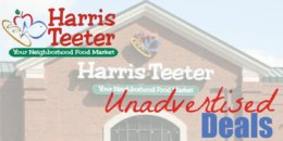 harris teeter unadvertised deals