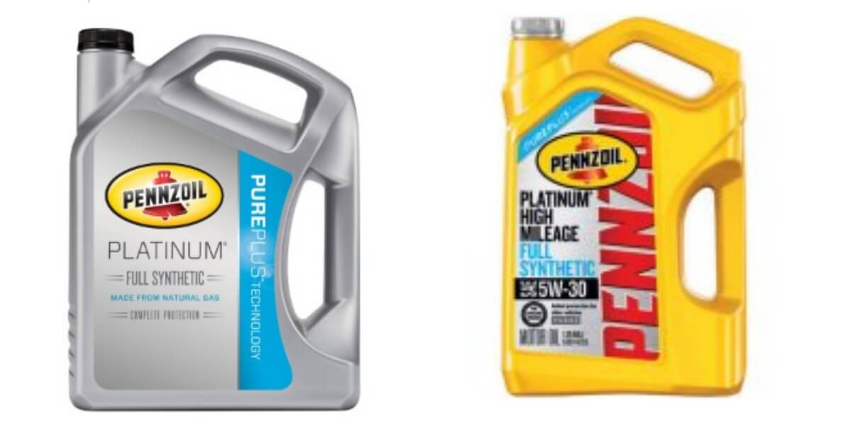 6 Quart Pennzoil Platinum Full Synthetic Motor Oil After Rebate Living Rich With Coupons