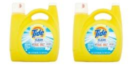 tide simple clean 138 oz