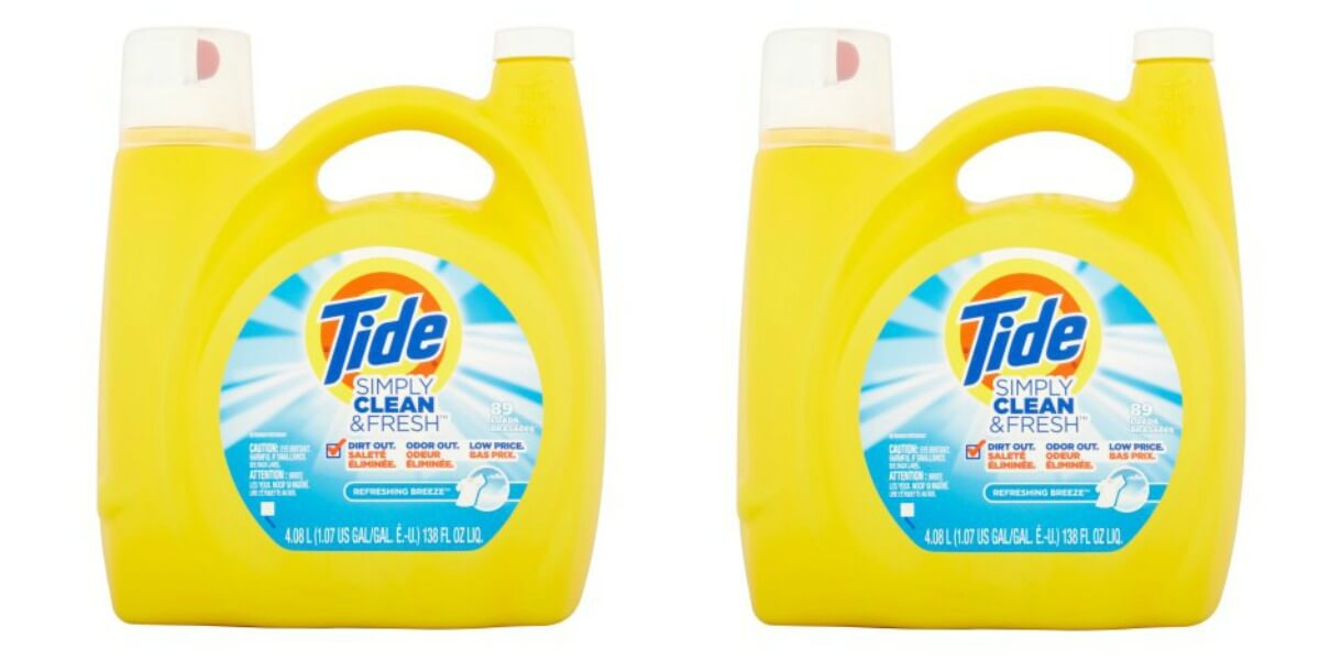graphic regarding Tide Simply Clean Printable Coupons known as Cost-free 138 oz Bottle of Tide Basic Refreshing Fresh new Laundry