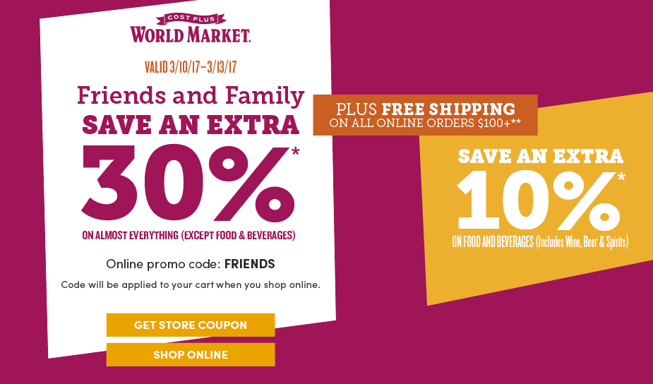 All Active World Market Promo Codes & Coupons - Up To 15% off in December When it comes to innovative furniture and home décor ideas from all around the world, you can trust in the World Market .
