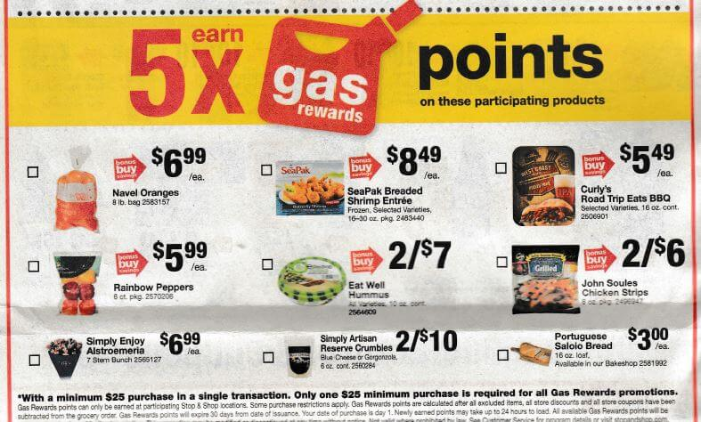 Stop and shop printable gas coupons