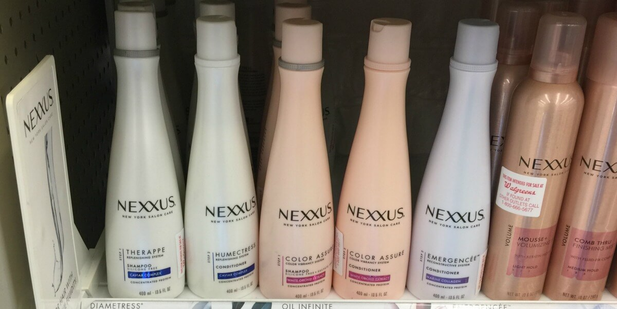 Nexxus hair products coupons