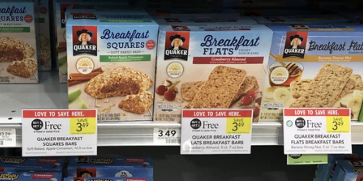 Quaker Breakfast Flats Coupons ... Quaker Brea...