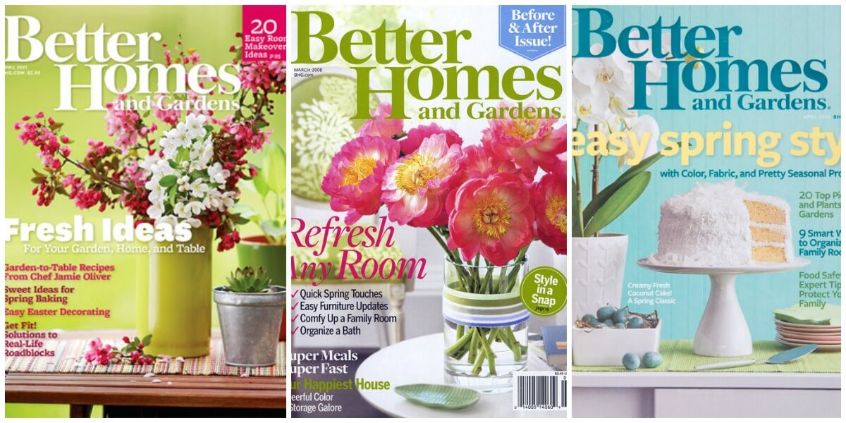 FREE Better Homes Gardens Magazine A Few Still Left No Credit