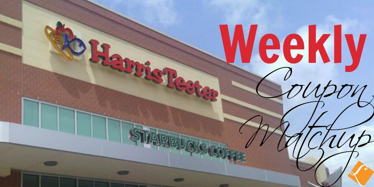 New Harris Teeter Match Ups that will Help You Save Big