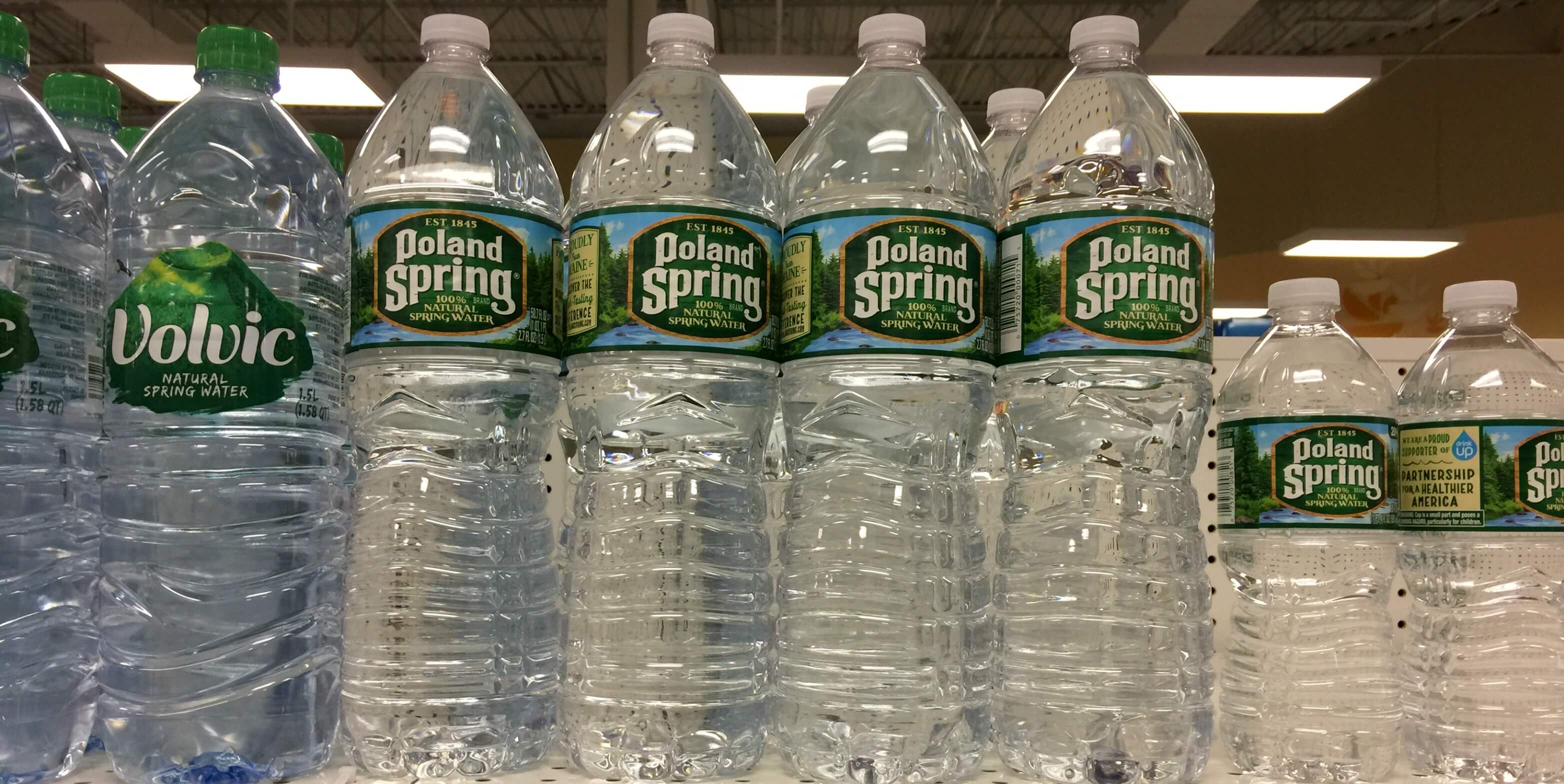 poland spring 1 liter bottles just  0 33 at shoprite
