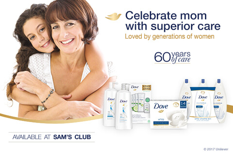 Buy 2 Dove Products at Sam's Club & Score a FREE Magazine Subscription of Your Choice!