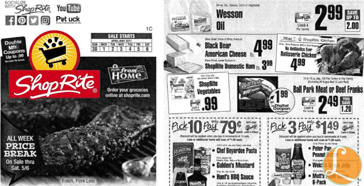 Shoprite Preview Ad For The Week Of 4 30 17living Rich With Coupons 174