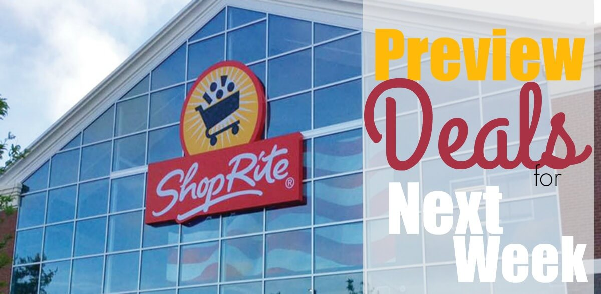 ShopRite Preview Deals 3/24