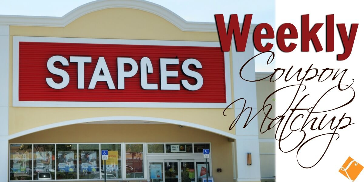 Staples Coupon Match Ups 3/24