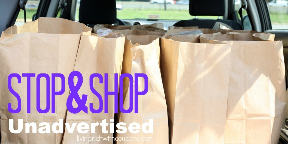Stop & Shop Unadvertised Deals 3/22