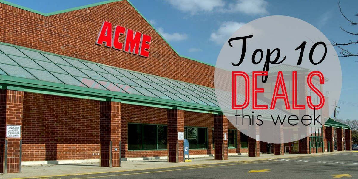 10 of the Most Popular Deals at Acme - Ending 8/24