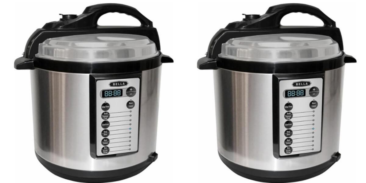 Bella 6 Quart Pressure Cooker 29 99 Reg 79 99 Living