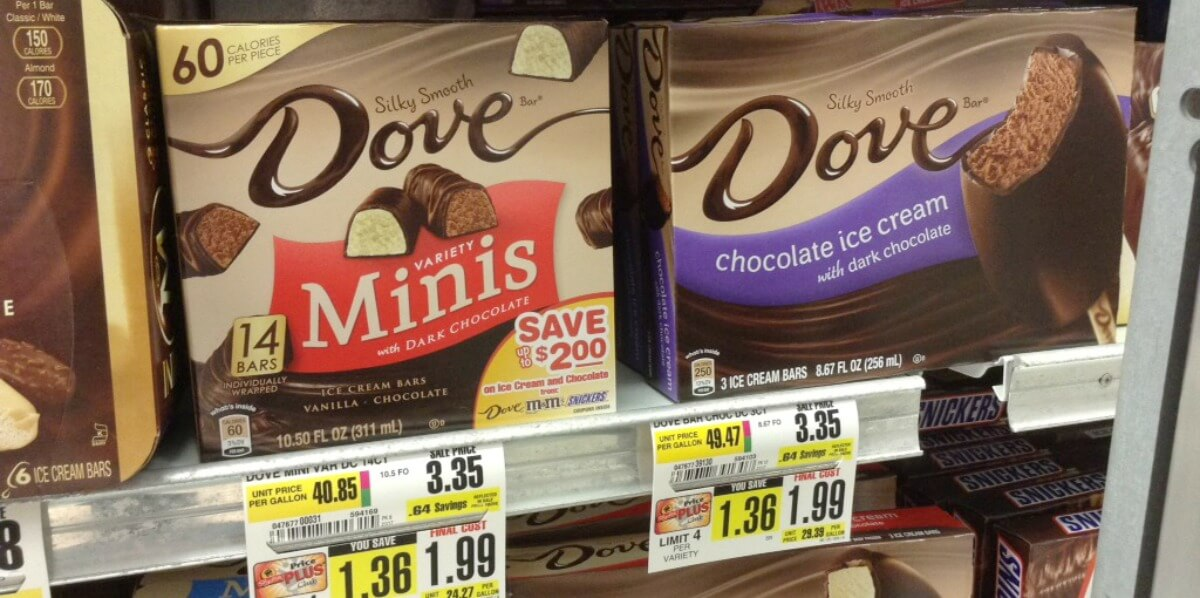 Mars & Dove Brand Ice Cream Novelties Just $0.99 at ShopRite!{6/11}