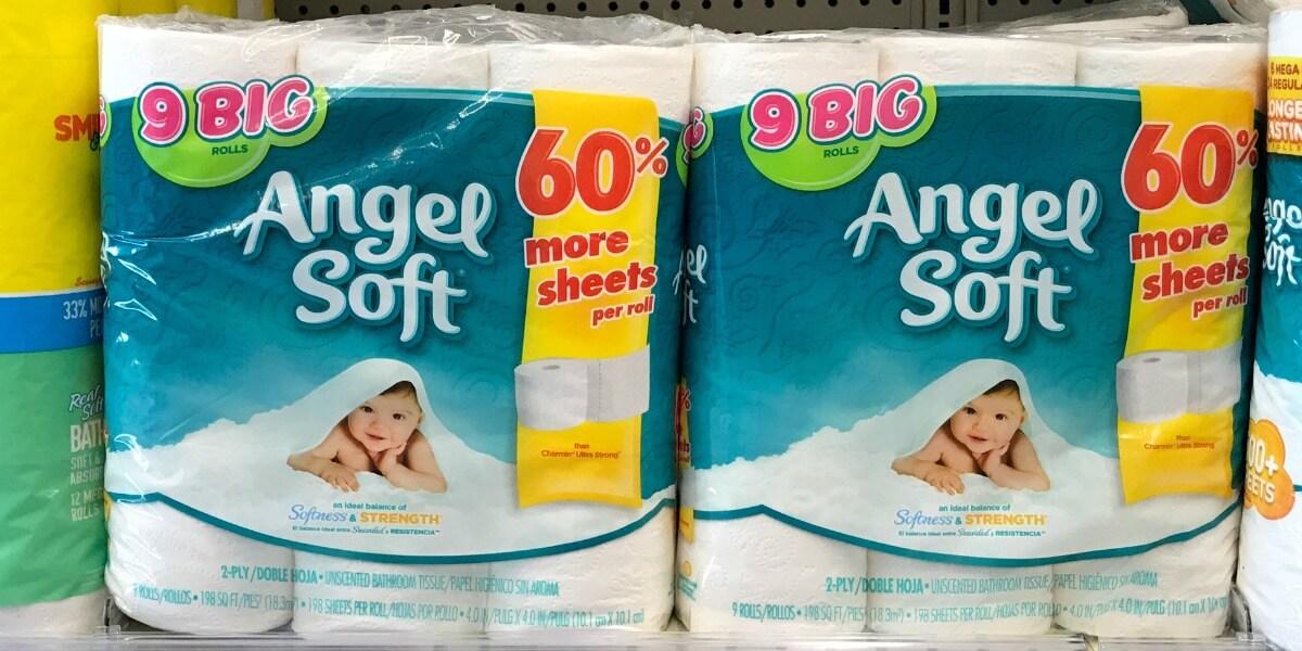 Angel Soft Bath Tissue Only $0.28 Per Big Roll at Walgreens!