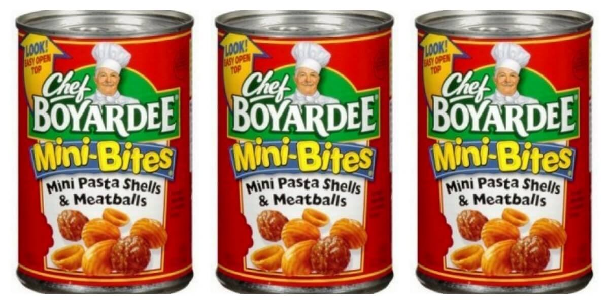 Conagra Recalls over 700,000 Pounds of Spaghetti and Meatballs – Chef Boyardee, Libby's Affected