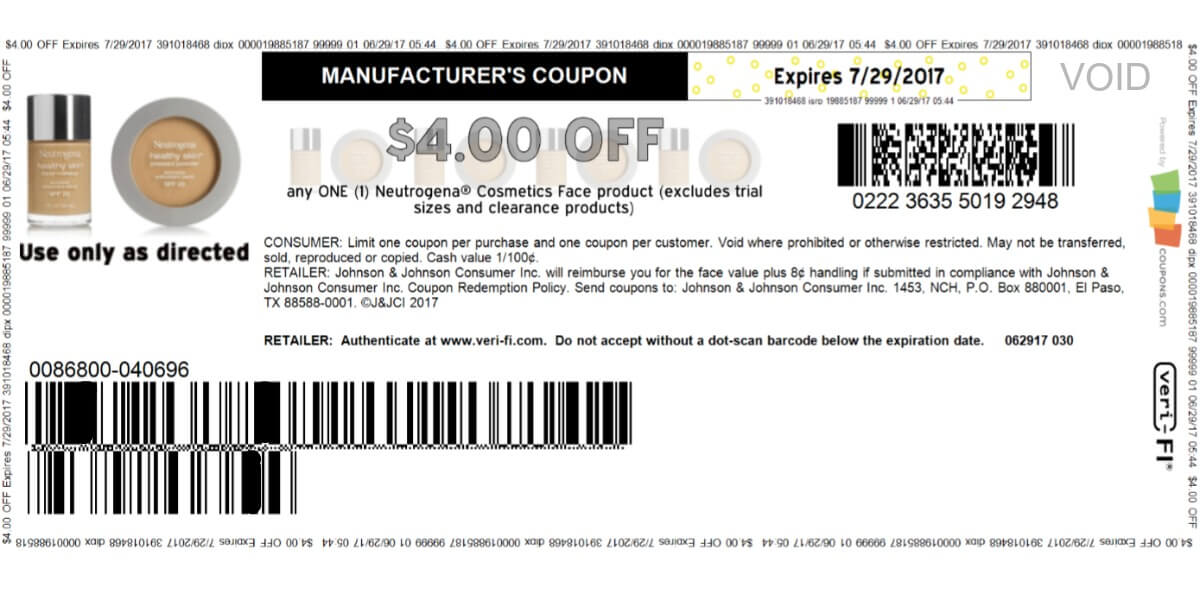 Hot $4.00 Neutrogena Coupon! Print Today!
