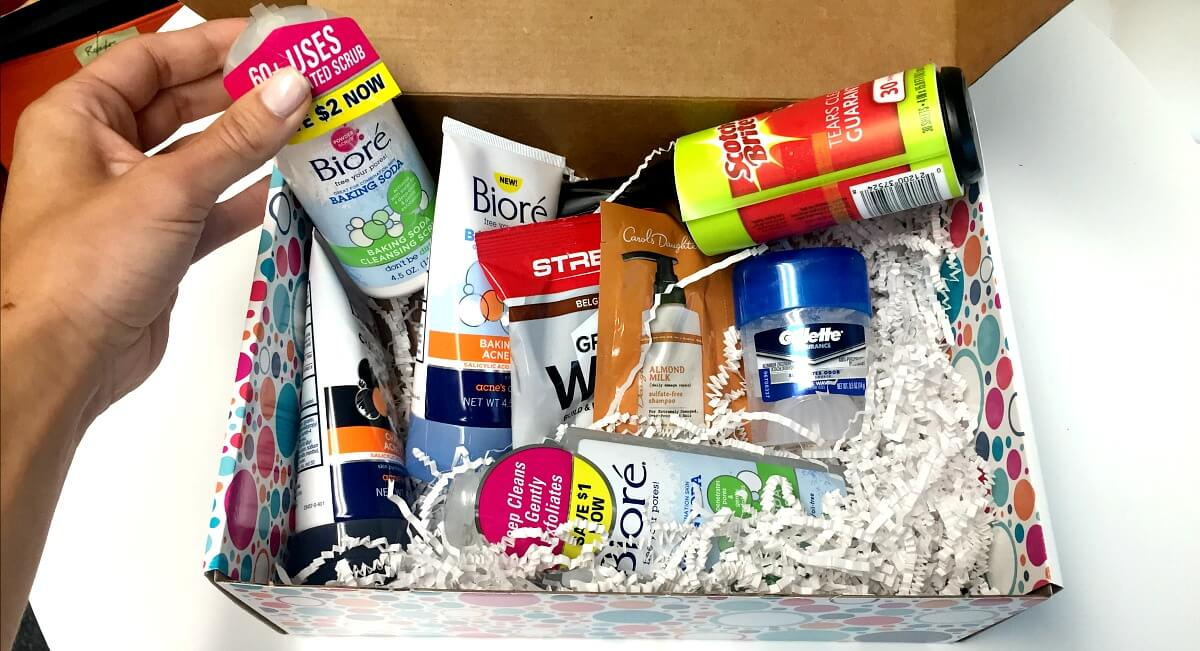 Huge Free Sample Box: Biore, Gillette, Quaker & More!