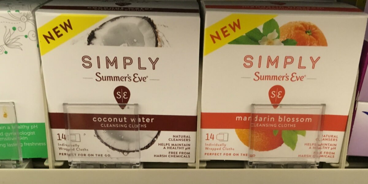 Simply summers eve coupon