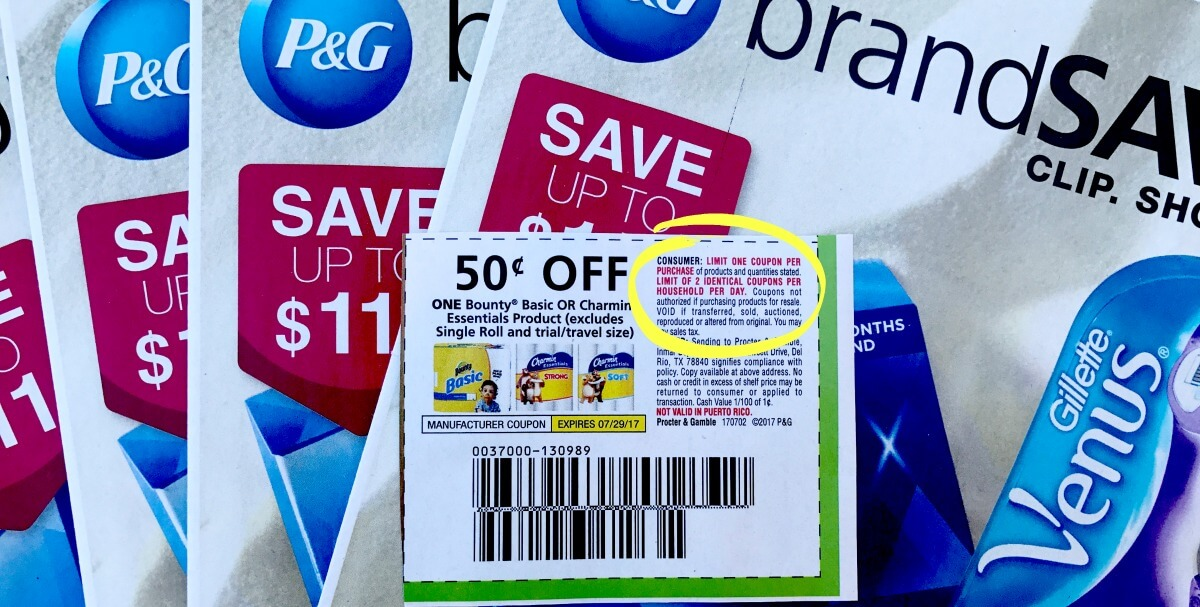 P G Changes Coupon Limits What You Need To Know Living