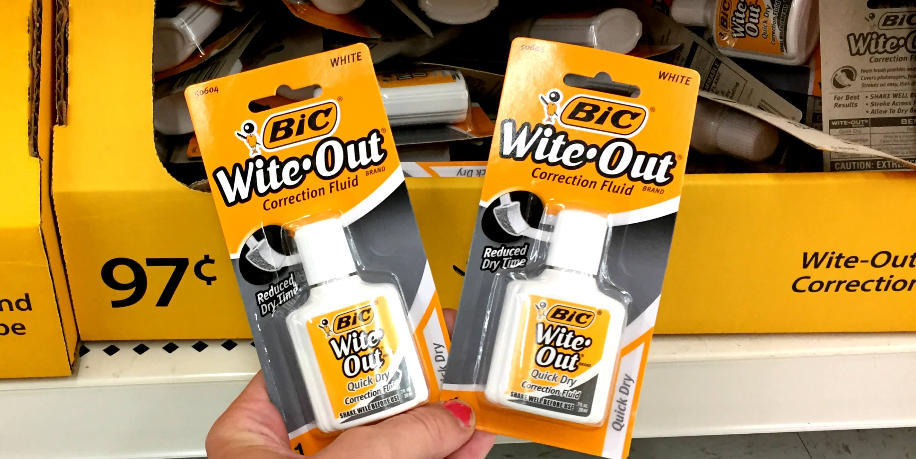 BIC Stationary Coupons January 2019