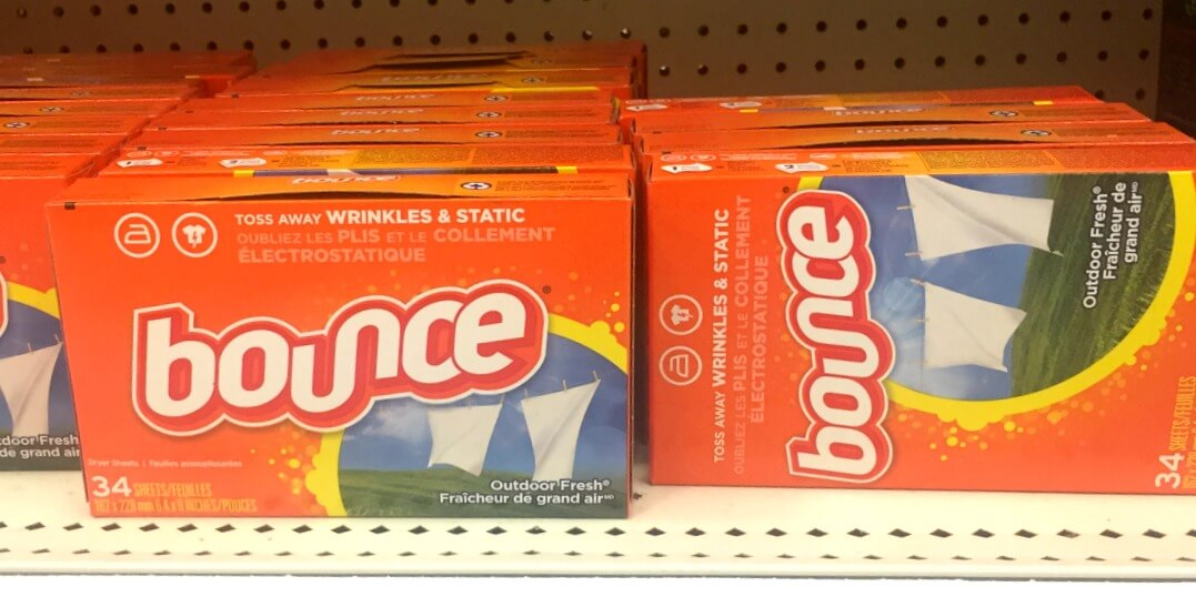 New Coupon! Bounce Dryer Sheets Just $0.99 at ShopRite!