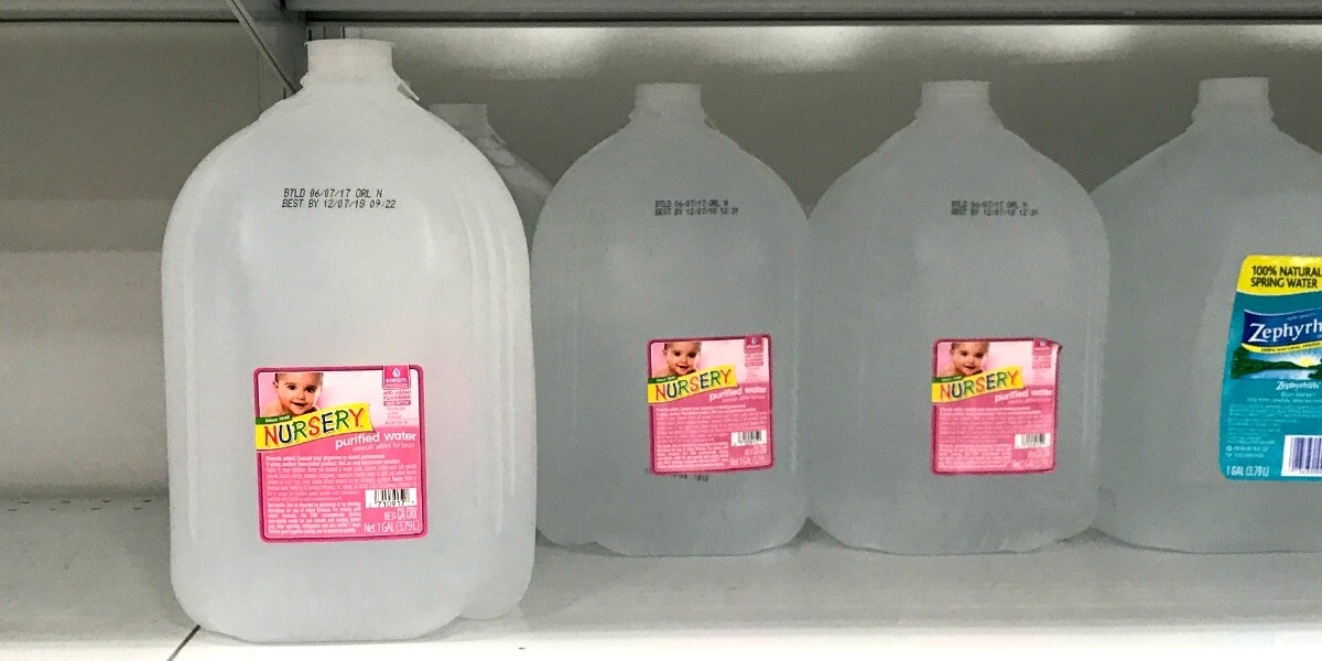 Nursery Water 1 Gallon Bottles Only 0 79 At Publix Living