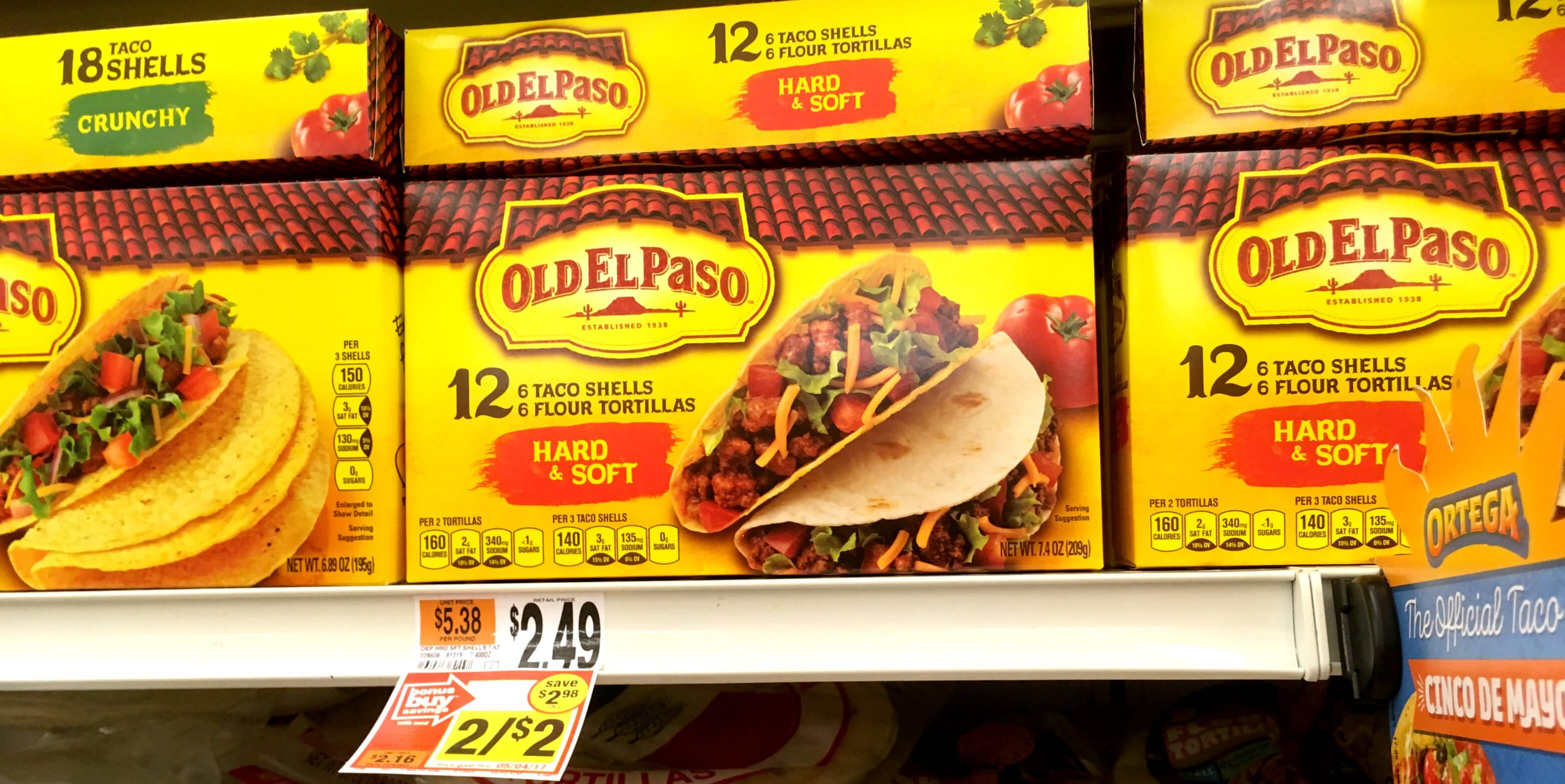 Free Old El Paso Taco Shells At Stop Shop Giant And Martin Living Rich With Coupons