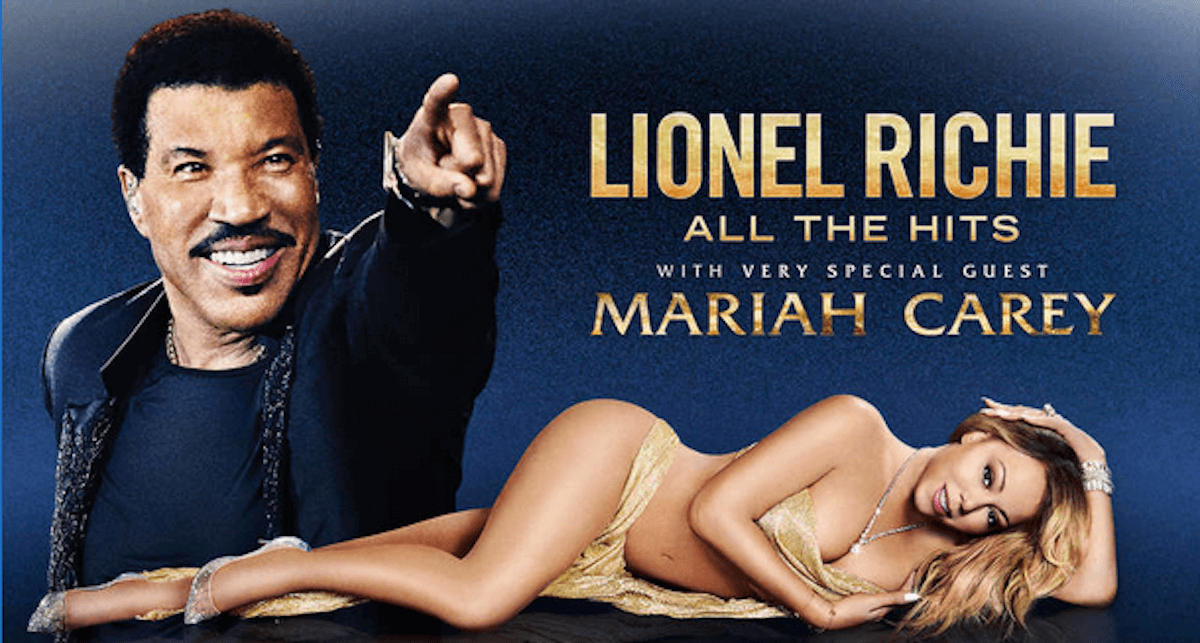 Lionel Richie 39 S All The Hits Tour With Very Special Guest Mariah Carey Discounted 45 Living