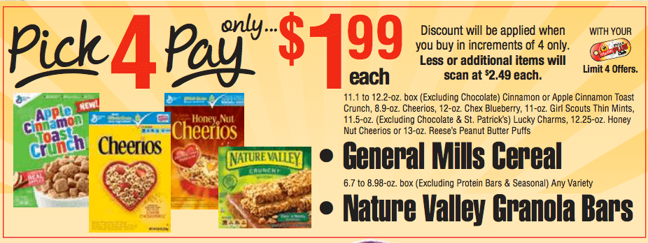general mills cereal bars coupons
