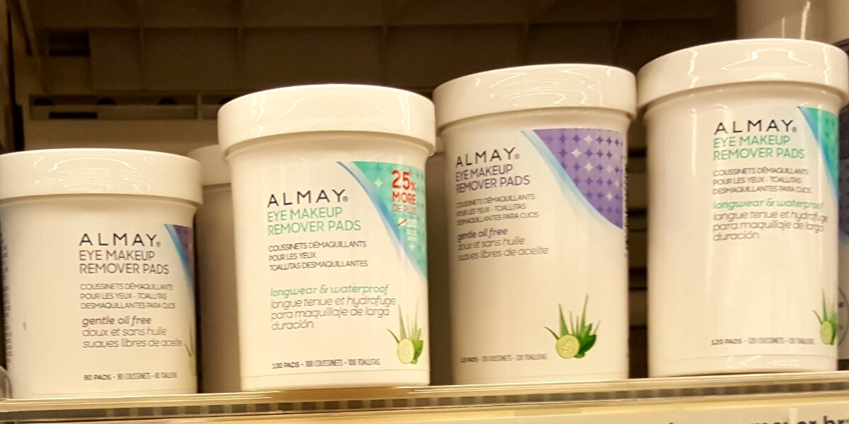 photo about Almay Coupon Printable identified as Fresh $2/1 Almay Products Coupon - $0.34 Make-up Remover Pads at