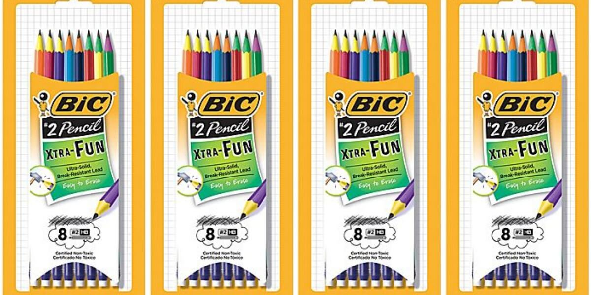 FREE Bic Xtra-Fun Pencils at Dollar General!