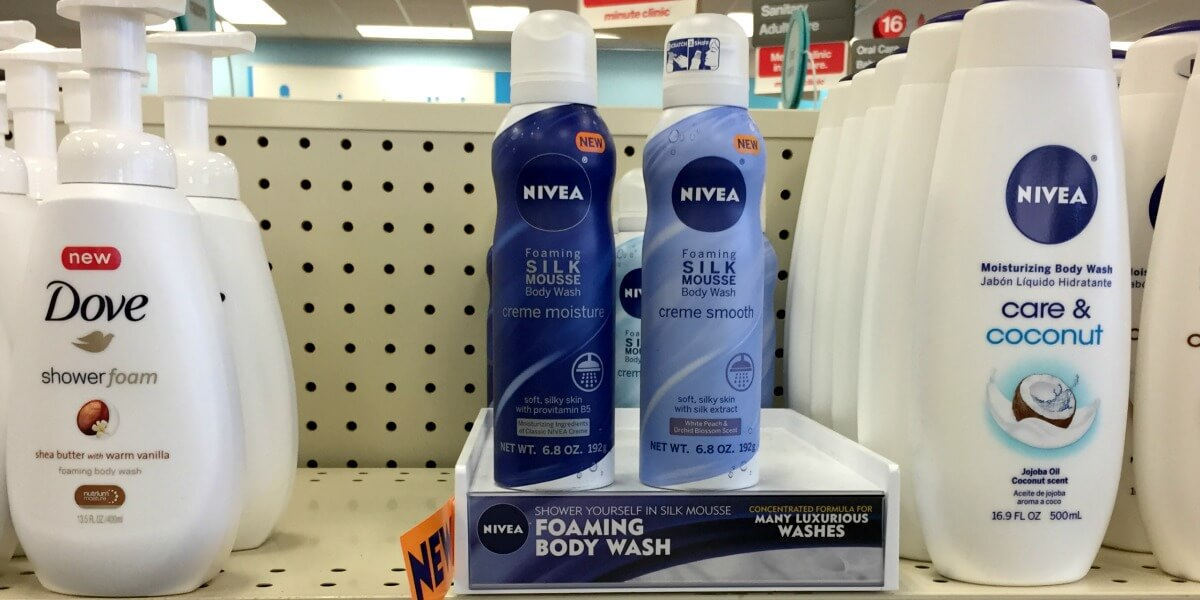 FREE Nivea Silk Mousse Body Wash at CVS! {Sunday 9/24 Only}