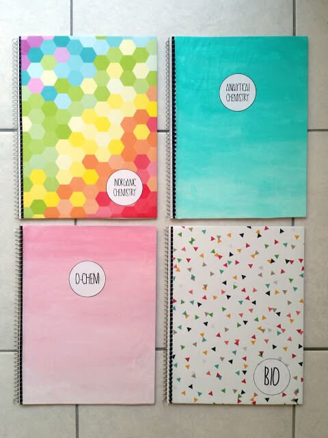 10 back to school organization ideasliving rich with coupons for Back to school notebook decoration ideas