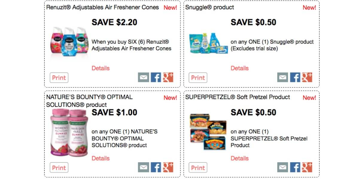 over 58 in new red plum printable coupons save on renuzit got2b schwarzkopf more