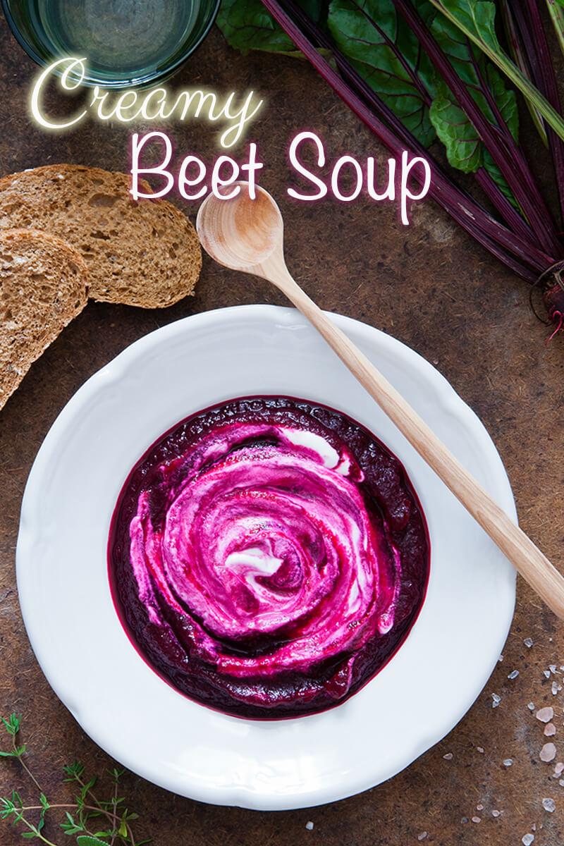 Creamy Beet Soup