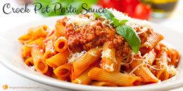 Crock Pot Pasta Sauce