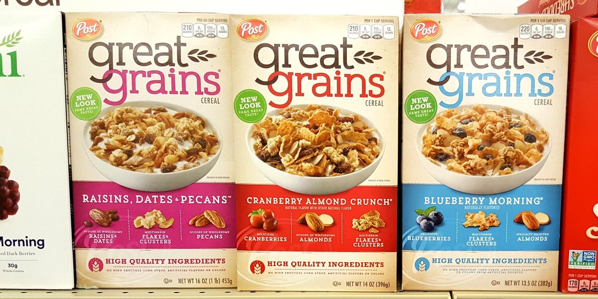 picture regarding Post Cereal Printable Coupons called Fresh new $0.50/1 Posting Perfect Grains Cereal Coupon - $1.49 at CVS