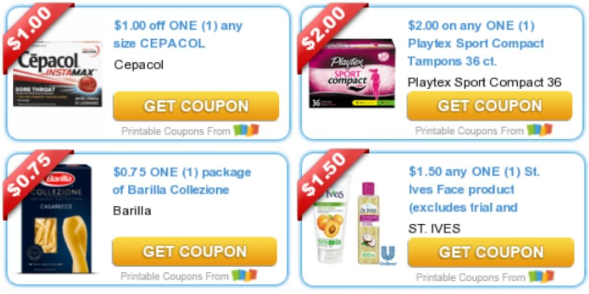 photo about St.ives Printable Coupons referred to as Todays Supreme Refreshing Discount codes - Personal savings in opposition to Playtex, Barilla, St
