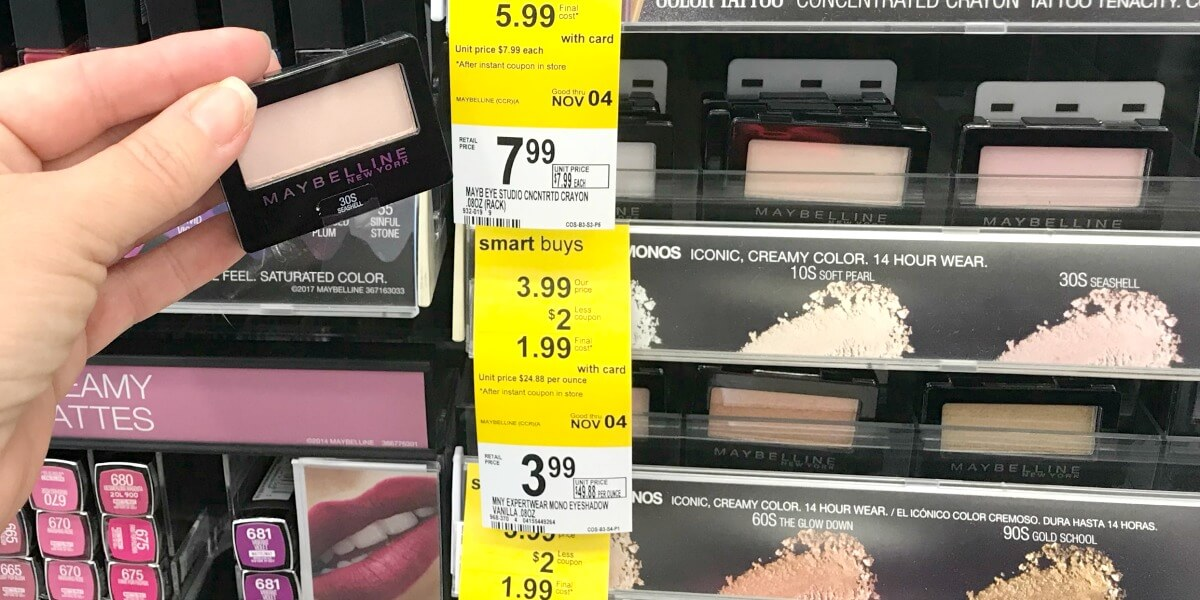 Walgreens Shoppers - FREE Maybelline Eye Shadow Singles! {10/22}