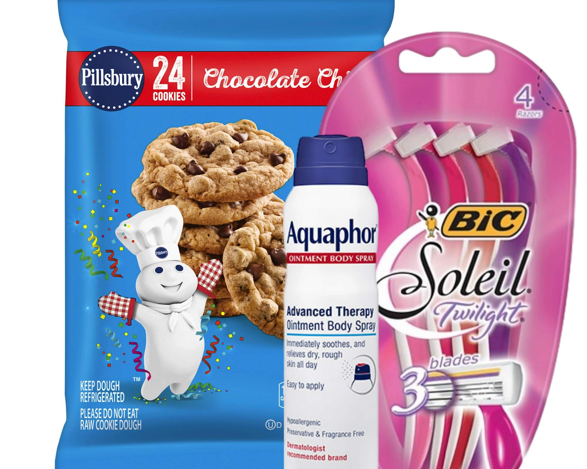 Today's Top New Coupons - Savings from General Mills, BIC, Aquaphor & More