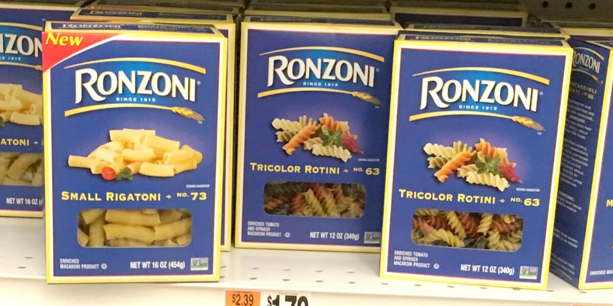 Ronzoni Coupons February 2019