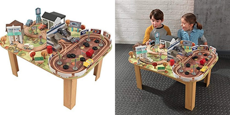Kidkraft Disney Pixar Cars 3 Wooden Track Set And Table 5998 Reg
