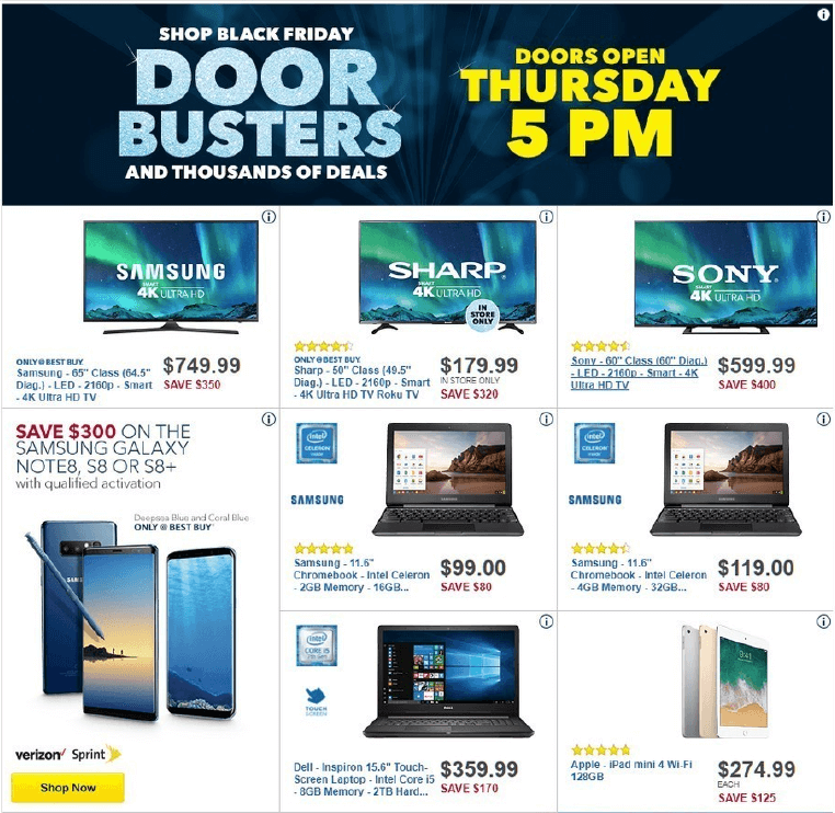 Best Buy Black Friday Ad 2017 Best Buy Deals Hours More Living Rich With Coupons