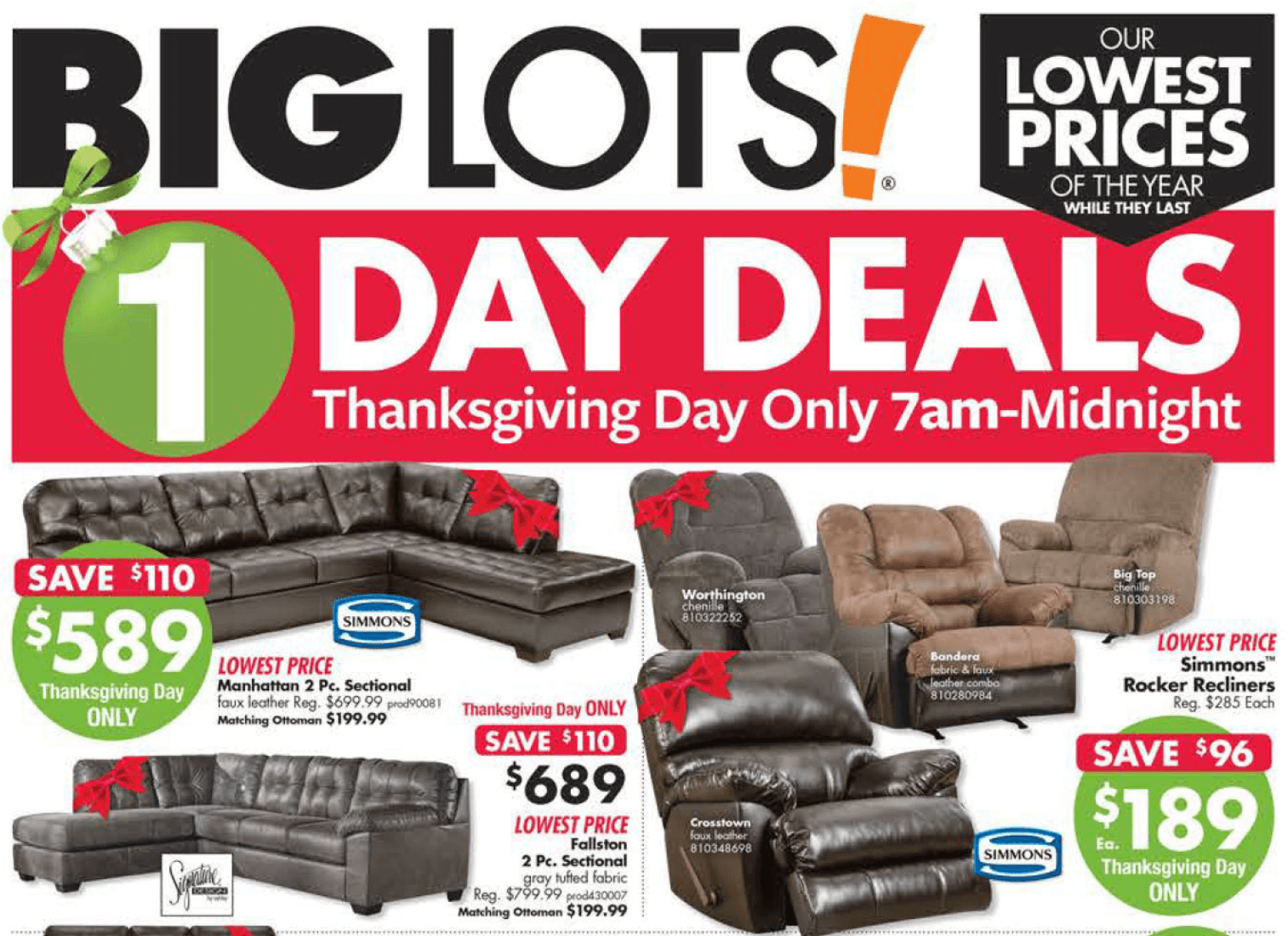 Big Lots Black Friday Ad 2017 Big Lots Deals Hours More Living Rich With Coupons